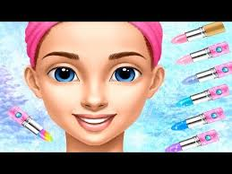 princess gloria makeup salon kids game