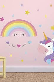 Walplus Magical Unicorn Rainbow Wall Stickers Nordstrom Rack