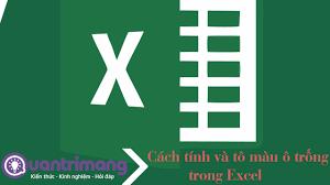Cách tính và tô màu ô trống trong Excel - Quantrimang.com