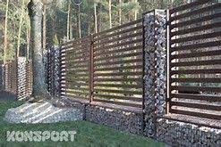 Gabion Fence Posts Bing Images Gabion Fence Fence Design Fence Landscaping