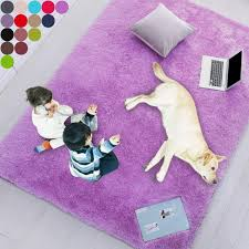Purple Soft Rug For Bedroom 2 X3 Fluffy Area Rug For Living Room Furry Carpet For Kids Room Shaggy Door Mat For Entryway Fuzzy Plush Rug Purple Carpet Rectangle Cute Room Decor For Baby