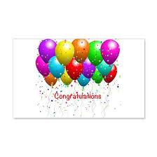 Congratulations Balloons Wall Decal By Debiydo Cafepress