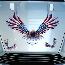 Eagle Hood Sticker Eagle Body Decoration Decals American Eagle Sticker Beddinginn Com