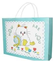 printed paper gift bags on s