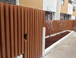 Pin By Linn Olofsdotter On Fence Ideas Wooden Fence Bamboo Fence Fence Design