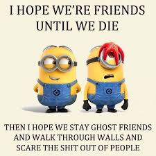 top funny minions friendship quotes besties funny minion