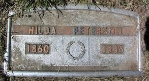 Hilda Peterson (1860-1936) - Find A Grave Memorial