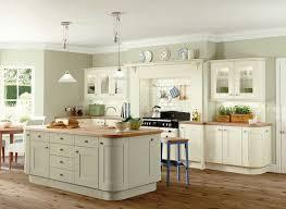 sage green kitchen walls