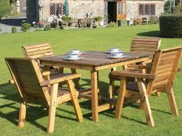 dales 1 15m square garden table sets