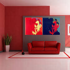 Shop Full Color Andy Warhol Modern Art Painting Full Color Wall Decal Sticker Sticker Decal Size 22x30 Overstock 14819949