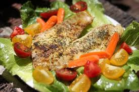 pan fried tilapia from the gvine