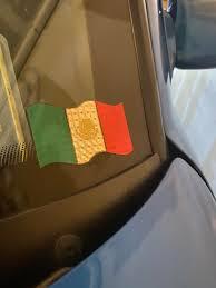 A Reflective Mexican Flag Car Decal Wherecanibuythis