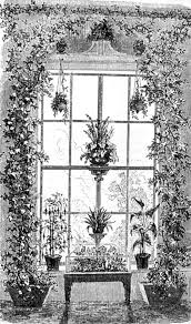 decorate a victorian house with plants