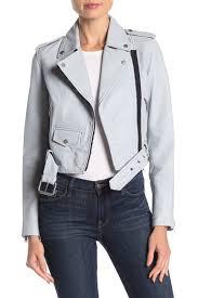 baron lambskin leather biker jacket