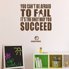 6 99 Lebron James Inspirational Quote Vinyl Wall Sticker Basketball And Success Decal Ebay Home Garden Vinyl Wall Stickers Basketball Vinyl Wall