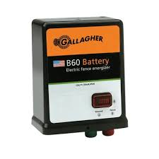 Gallagher B60 Battery Fence Charger Energizer Gallagher Fence