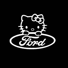 Hello Kitty Ford Vinyl Decal Stickers Sticker Flare Llc