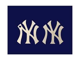 Ny Yankees Logo Decal Car Computer Window Decal Small Etsy Ny Yankees Logo Yankees Logo Ny Yankees