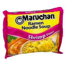 instant maruchan ramen shrimp flavor