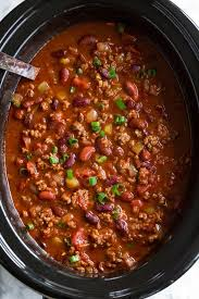 slow cooker chili best chili ever