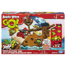Angry Birds Go! Jenga Pirate Pig Attack Game Giveaway!