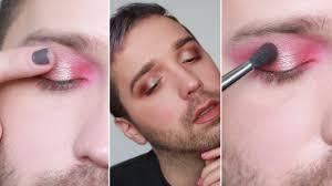 powder eye shadow look more pigmented