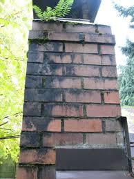 identifying chimney discoloration