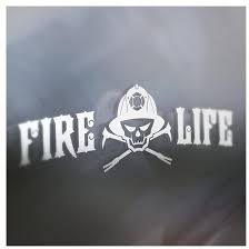 Vinyl Fire Life Car Decal Halligan Bottle Openers