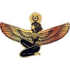 Egyptian Goddess Isis Beautiful Vinyl Sticker Waterproof Decal Sticker 5 Walmart Com Walmart Com