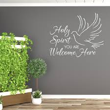 Holy Spirit Vinyl Decal Machlao Studio