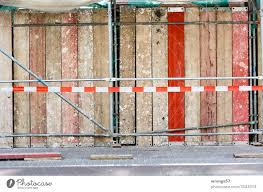 Construction Site Safety And Scaffolding On A Footpath A Royalty Free Stock Photo From Photocase