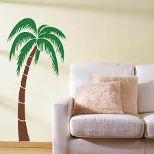 Tropical Palm Tree Wall Sticker Palm Tree Wall Decals Large Tree Sticker For Living Room Bedroom Removable Vinyl Home Decor 694t Tree Sticker Tree Wall Stickerwall Sticker Aliexpress