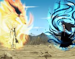 Naruto vs Ichigo – Bijuu Mode vs Final Getsuga Tenshou