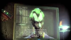 batman arkham city joker watches lost lost reference in batman