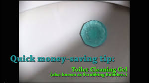quick money saving tip toilet cleaning