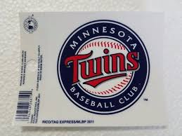 Minnesota Twins Logo Static Cling Sticker Decal Window Or Car Mlb For Sale Online Ebay