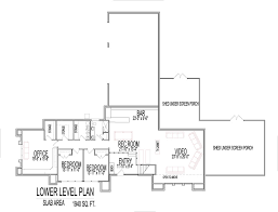 house floor plans modern split level