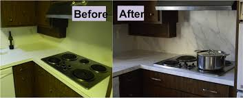 how to refinish laminate counters with