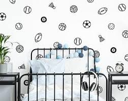 Sports Wall Decals Etsy