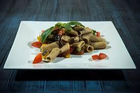 fresh homemade pasta with bosco al