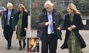 Boris Johnson and his lover Carrie, 30 ...