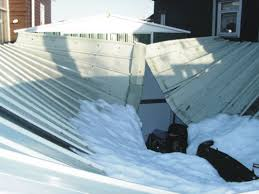 metal shed roof collapse