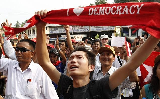 """Image result for NLD Cozah Democracy"""""""