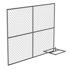 China 6 10 Galvanized Temporary Chain Link Fence China Wire Fence Panel