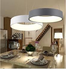 modern circle led chandelier acrylic