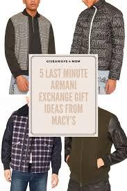 last minute armani exchange gift ideas