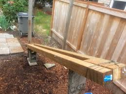 Pull Wooden Fence Posts Set In Concrete With No Digging Wooden Fence Posts Backyard Fences Fence Landscaping