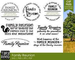 family reunion svg