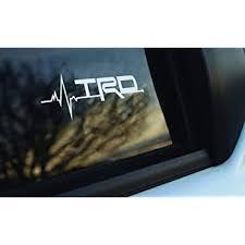 Amazon Com Trd Is In My Blood Window Sticker Decals Graphic Automotive