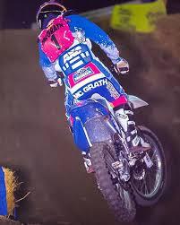 Jeremy McGrath on his Peak Honda CR125. - Motocross Action   Facebook